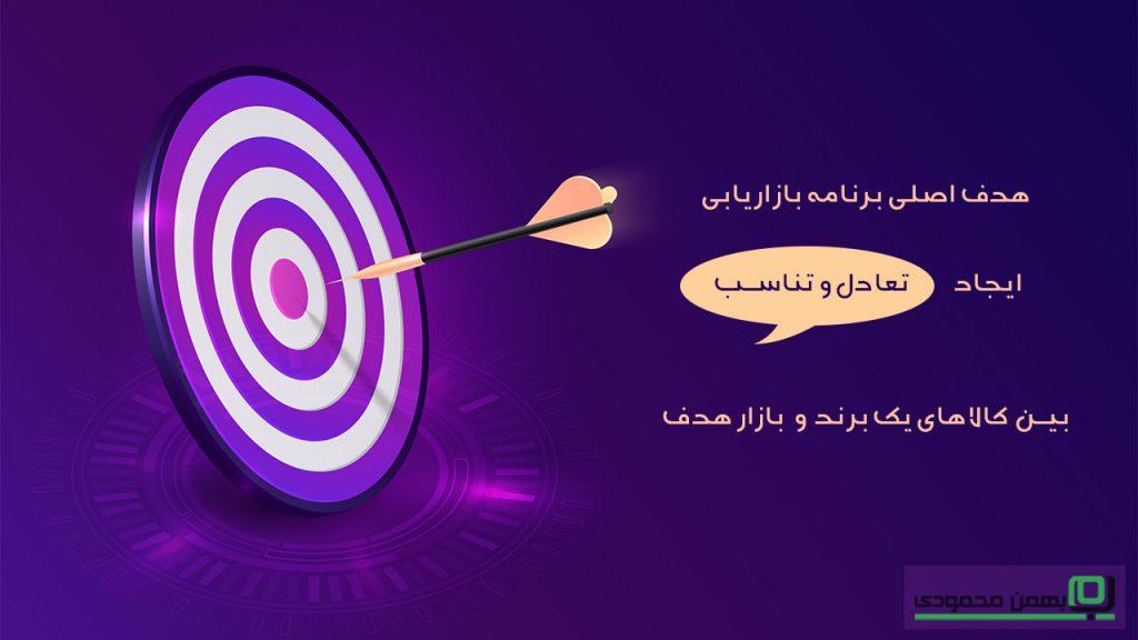 هدف اصلی برنامه بازاریابی